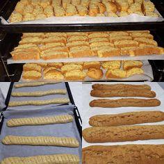 ΜΑΓΕΙΡΙΚΗ ΚΑΙ ΣΥΝΤΑΓΕΣ 2: Παξιμαδακια με γλυκάνισο!!!! Hot Dog Buns, Hot Dogs, Greek Cookies, Sweets, Bread, Cooking, Desserts, Recipes, Food