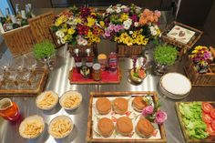 Como montar uma mesa de Sanduiches   Chez Marina