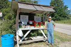 Roadside Vegetable Stand | source stopping at old roadside vegetable stands
