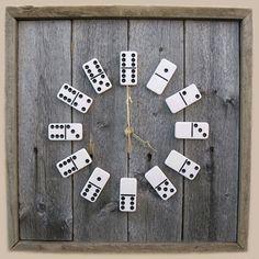 Domino clock- basement/man cave