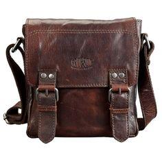 Umhänge Tasche Postbag S Magic Number von authenticleathergood