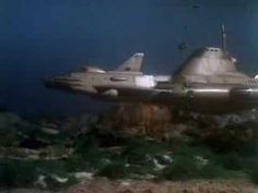 """Opening title sequence of the circa 1970 Gerry Anderson sci-fi TV show """"UFO"""". Best TV theme song of all time. Space Tv Series, Ufo Tv Series, Best Series, Serie Tv, 60s Tv, Tv Themes, Days Of Future Past, Sci Fi Ships, Classic Tv"""