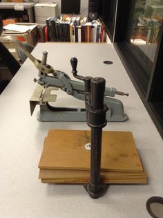 1/9. Do you know what these are used for? #librarytools
