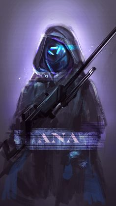Ana - First character I ever tried when we got Overwatch simply because she's a sniper...not to toot my own horn but I'm kinda a badass when it comes to sniping haha