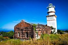 Capones Island, San Antonio, Philippines - Capones Island Lighthouse, located in Zambales #Philippines.