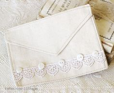 Canvas Envelope No.4 (Katies Rose Cottage)
