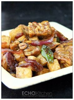Tempeh Masak Tofu