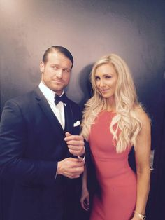 Dolph Ziggler cleans up good with Charlotte Charlotte Flair, Wwe 2, Wwe Birthday, Best Wrestlers, Wwe Women's Division, Dolph Ziggler, Raw Women's Champion, Wrestling Wwe, Wwe Womens
