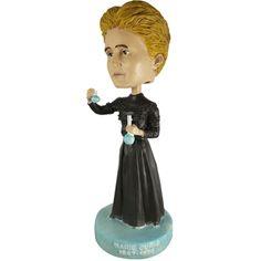 Marie Curie bobblehead ♥ geek gifts