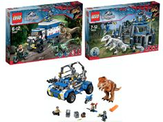 The entire Jurassic World LEGO range worth £300 is up for grabs in a competition with HuffPost UK Parents.