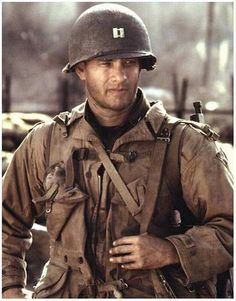 Tom Hanks in Saving Private Ryan
