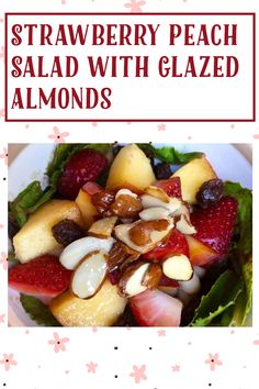 Summer Fruit, Summer Salads, Delicious Fruit, Yummy Food, My Recipes, Salad Recipes, Creamy Balsamic Dressing, Salad Toppings, Food Words