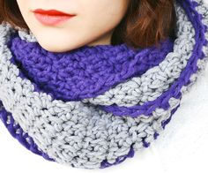 Free Crochet Pattern: Infinity and Beyond Cowl