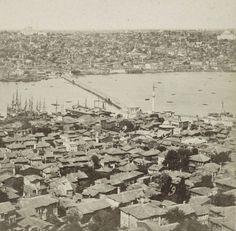 Eski İstanbul: Galata Kulesi'nden Azapkapı ve Unkapanı Sophus Williams & E. Linde & Co. 1860 - 1890