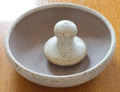 mortar and pestle   John Julian style pestle and mortar from Sutton Pottery Norfolk ...