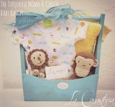 The Turquoise Momo & Cirilo Baby Basketes una canastita muy original…