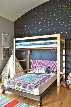 Reid & Ivy's Happy Balance Shared Room — My Room apartmenttherapy.com