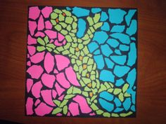Art Lesson Plans | Animal Mosaic Lesson Plan - Elementary Art Educational Resources