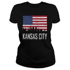 Kansas City Missouri Skyline American Flag - Mens Ringer T-Shirt  #gift #ideas #Popular #Everything #Videos #Shop #Animals #pets #Architecture #Art #Cars #motorcycles #Celebrities #DIY #crafts #Design #Education #Entertainment #Food #drink #Gardening #Geek #Hair #beauty #Health #fitness #History #Holidays #events #Home decor #Humor #Illustrations #posters #Kids #parenting #Men #Outdoors #Photography #Products #Quotes #Science #nature #Sports #Tattoos #Technology #Travel #Weddings #Women