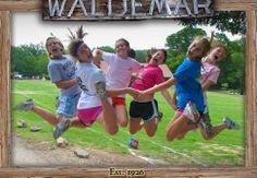 Summer fun at Camp Waldemar!    Check out AliandOlivia.com for Camp Waldemar clothing and accessories
