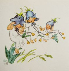 bluebell trio - ida bohatta