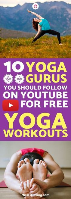 Finding good yoga workouts can be tough. Thankfully, these youtube channels provide you with plenty of yoga workouts.