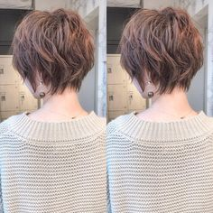 short bob hairstyles For Thick Hair Short Grunge Hair, Edgy Short Hair, Short Hair With Layers, Short Hair Cuts For Women, Curly Short, Bobbed Hairstyles With Fringe, Cute Hairstyles For Short Hair, Shot Hair Styles, Curly Hair Styles