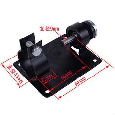 Electric Drill Rotating Tool Stand Support Stable Milling Cutter Polishing Press | eBay
