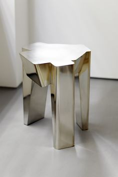 vincenzo di cotiis table SILVER PLATED BRASS 2016