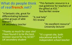 Realfrench.net | French Grammar Games and Vocabulary Exercises