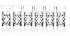 Lorren Home Trends Crystal Melodia Collection High Ball Glass Set of 6 Home Trends, Crystals, Glasses, Top, Collection, Eyewear, Eyeglasses, Crystals Minerals, Eye Glasses