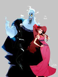 Hades y Meg