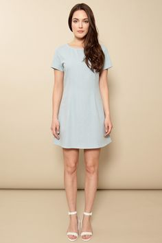 Dusen Dusen Fitted Tee Dress | Made in the USA | Shop ETHICA