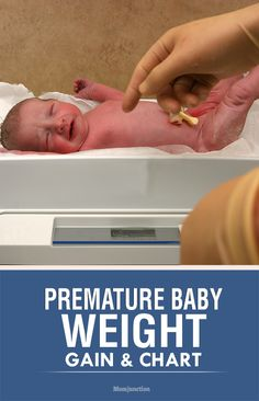 Premature Baby Weight Gain & Weight Chart