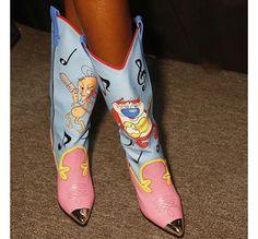 7389ddf42a4 Shoes at New York Fashion Week. Jeremy ScottRubber ...