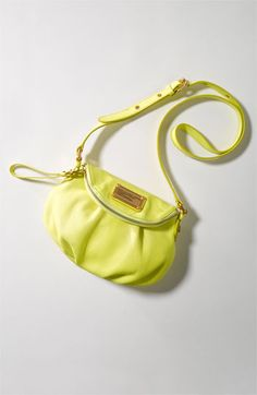Stand out, yellow. A MARC BY MARC JACOBS classic crossbody.
