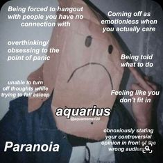 Astrology Aquarius, Aquarius Traits, Aquarius Quotes, Zodiac Signs Horoscope, Zodiac Memes, Zodiac Star Signs, Astrology Signs, Aquarius Funny, Aquarius Personality