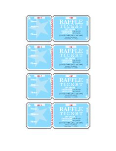 templates for tickets with stubs - event tickets templates fundraising ideas