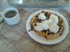 Finals week breakfast. Leslie Knope would be proud.