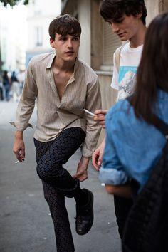 #MensFashion: Hippie - #Bohemian Printed Trousers Pinterest:@keraavlon