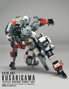Action1 | SH1n.081 My First LEGO MoC a Ninja inspired mech n… | Flickr