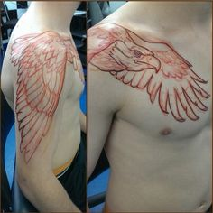 Awesome Eagle Tattoo for a shoulder.