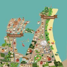 Chioggia map  - ModDesign Studio