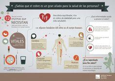 El cobre es un gran aliado para la salud de las personas