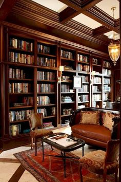 Home library design - Grateful Stylish Layout Classy Living Room of The Lounge Room Home Library Rooms, Home Library Design, Home Libraries, Home Office Design, House Design, Library Ideas, Library Study Room, Garden Design, Beautiful Library