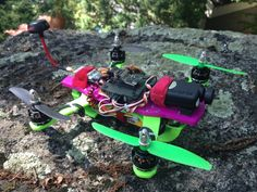 Mini LiMbO H Quad copter by mojobromley.