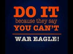 Auburn! Love this!!❤️❤️