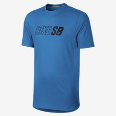 NOT YOUR BASIC TEE The Nike SB Skyline Dri-FIT Cool Graphic Men's T-Shirt lets you move naturally and helps keep air flowing with body-mapping seams and mesh panels. Super-soft, sweat-wicking fabric provides a comfortable fit, and a dropped hem enhances coverage. Benefits Dri-FIT fabric helps keep you dry and comfortable Mesh panels for excellent ventilation Ergonomic seams allow you to move naturally Dropped hem enhances coverage Circular bonds enhance durability Product Details Fabric…