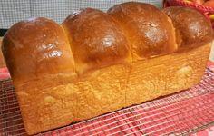 Hokkaido Milk Sandwich Loaf {Sourdough – Natural Fermentation} via @thisoldgalcooks
