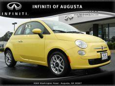 2013 Fiat 500, 29,930 miles, $11,600.